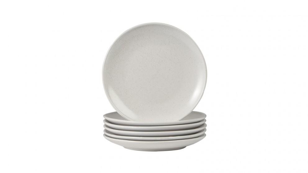 Cooper & Co. Mari Side Plate in White 19cm - Set of 6