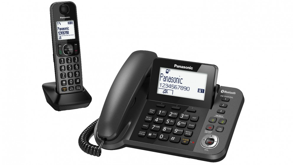 cordless home phones cheap panasonic dect tgf38 series corded cordless home 955