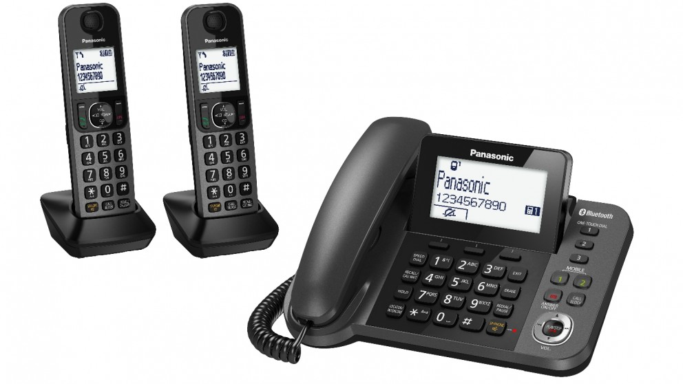 Cheap Panasonic Dect Tgf38 Series Corded Twin Cordless Home Phone