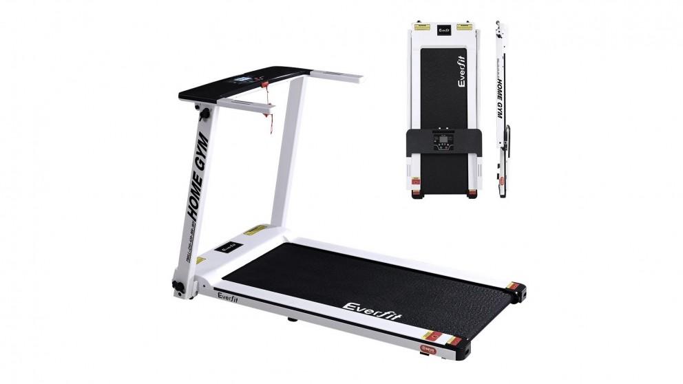 Everfit Electric Treadmill Machine 420mm Belt - White