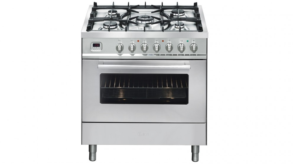 ILVE 800mm PRO-Line Single Oven Freestanding Cooker with 5 Gas Burner Cooktop