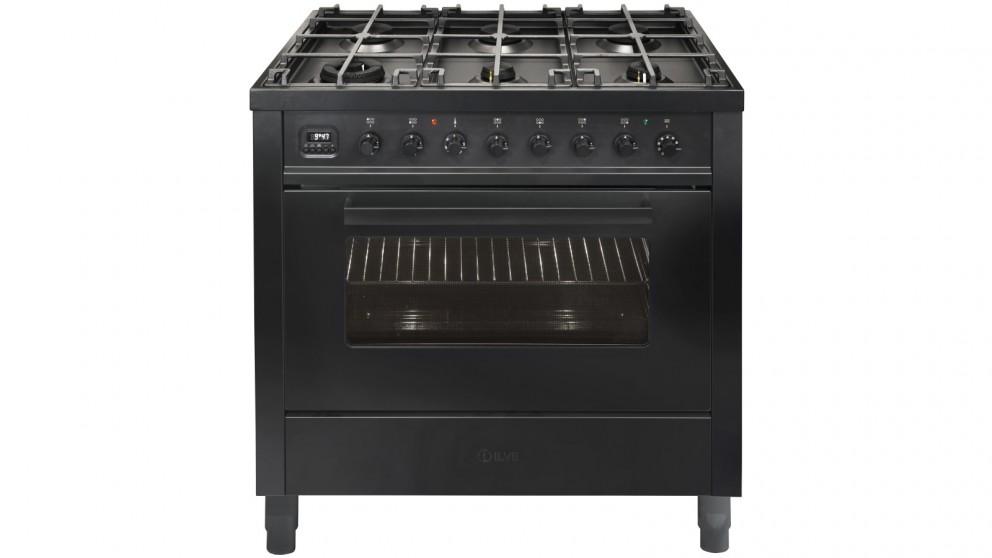 ILVE PRO-Line 900mm Freestanding Cooker - Matt Graphite