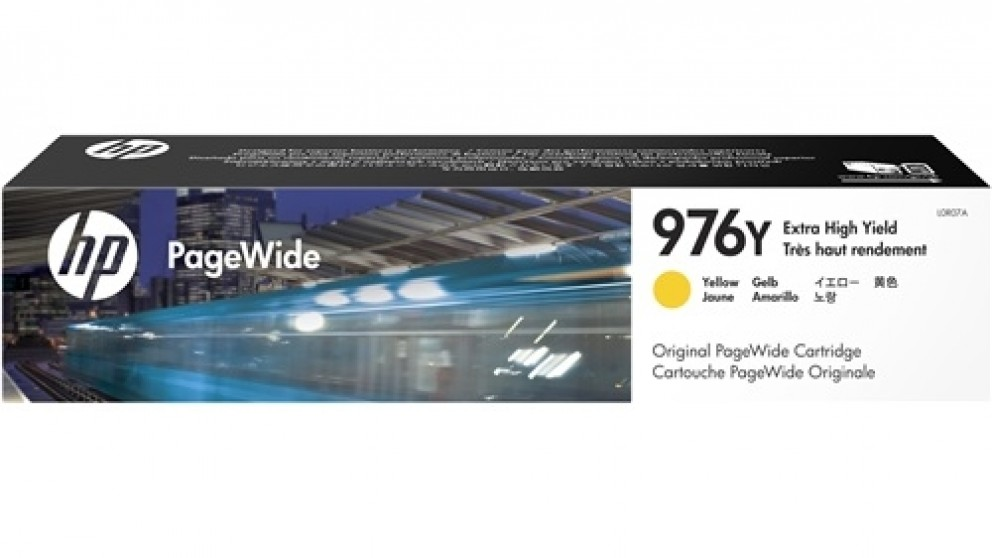 HP 976Y PageWide Ink Cartridge - Yellow