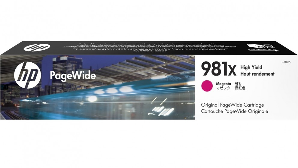 HP 981X High Yield PageWide Ink Cartridge - Magenta