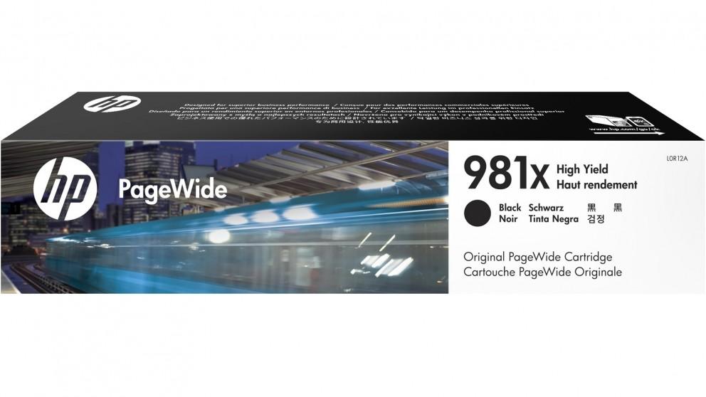 HP 981X High Yield PageWide Ink Cartridge - Black
