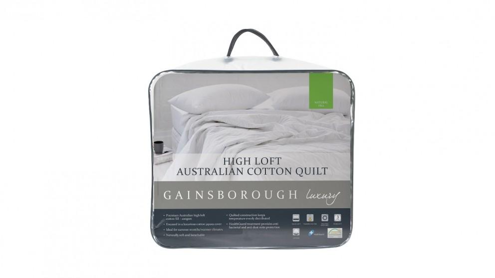 Gainsborough Luxury Superior High Loft Cotton King Quilt