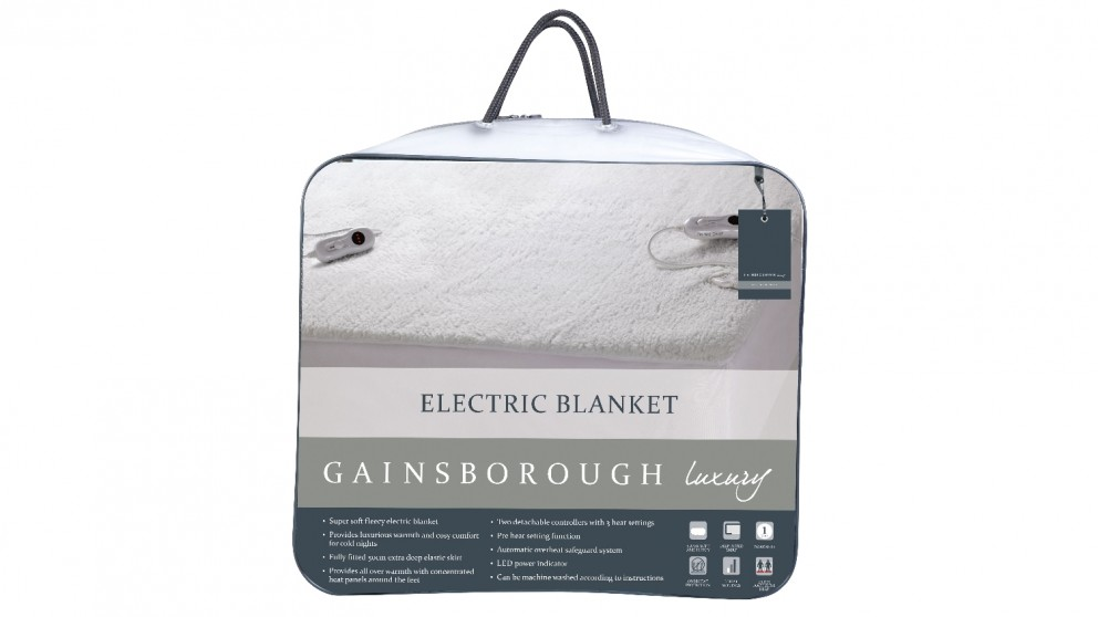 Gainsborough Luxury Fitted Electric Blanket - Double