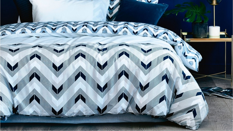 Benedict Grey Quilt Cover Set
