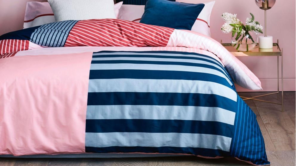 Noma Pink Single Quilt Cover Set