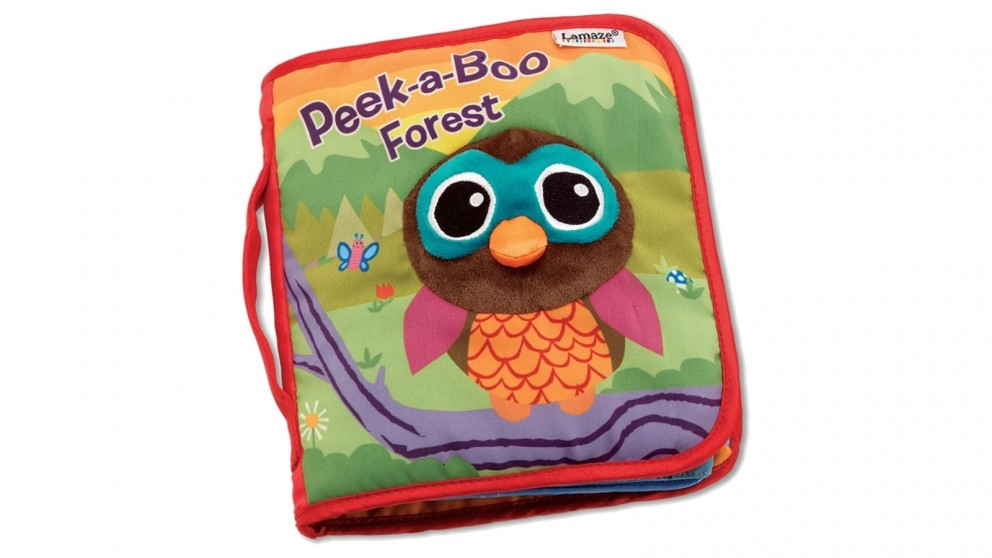 Lamaze Peek-A-Boo Forest Book Baby Toy - 0 Months+