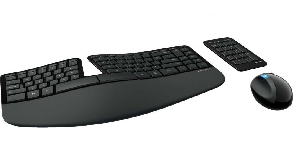 Microsoft Sculpt Ergonomic Desktop Keyboard and Mouse Combo