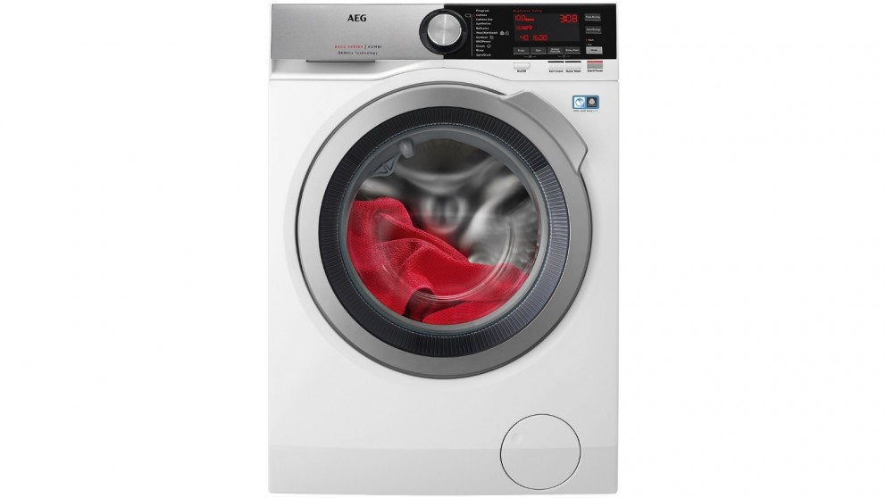 AEG 10kg/6kg Front Load Washer and Dryer Combo