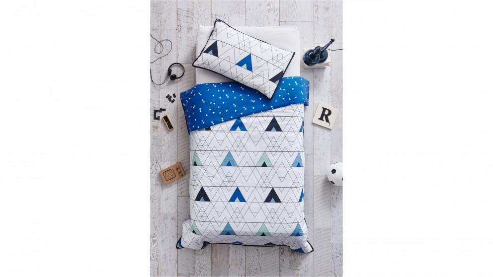 Spyro Blue Single Quilt Cover Set
