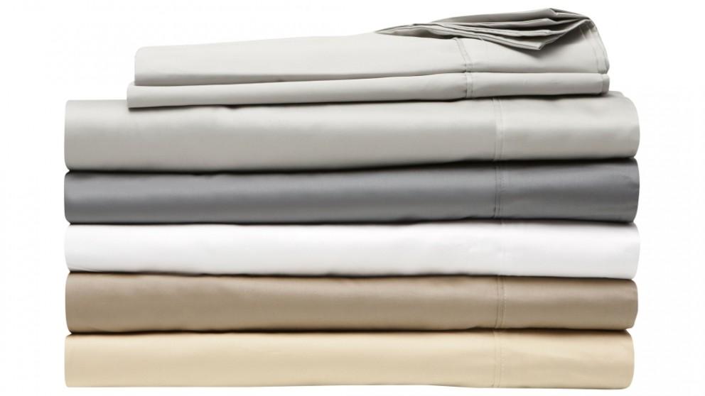 L'Avenue 500TC Single Sheet Set - White 50cm