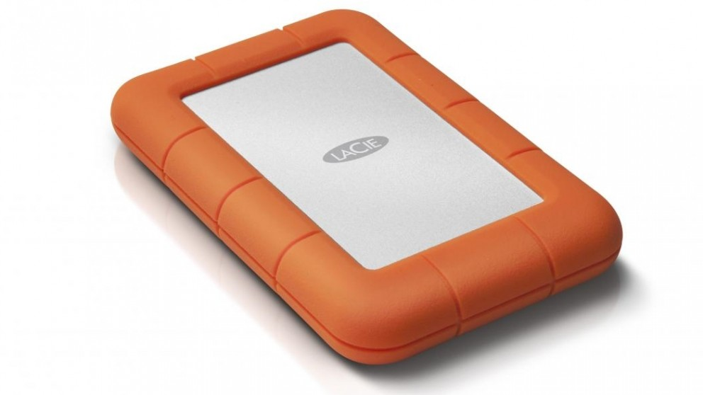 LaCie Rugged Mini 2.5 1TB Portable Hard Drives