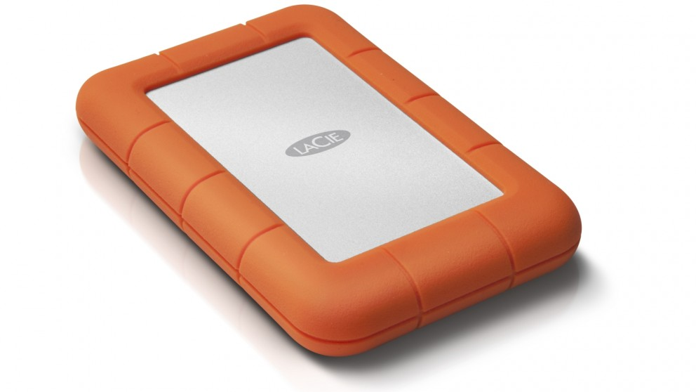 LaCie 4TB Rugged Mini USB 3.0 Portable Hard Drive