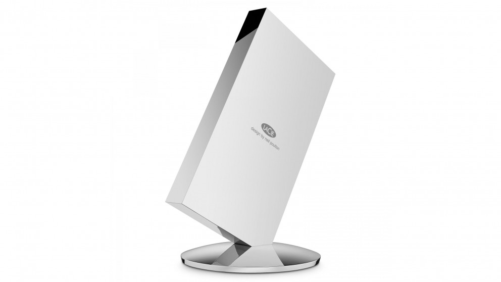 Lacie Chrome 1TB Dual External Solid State Drive