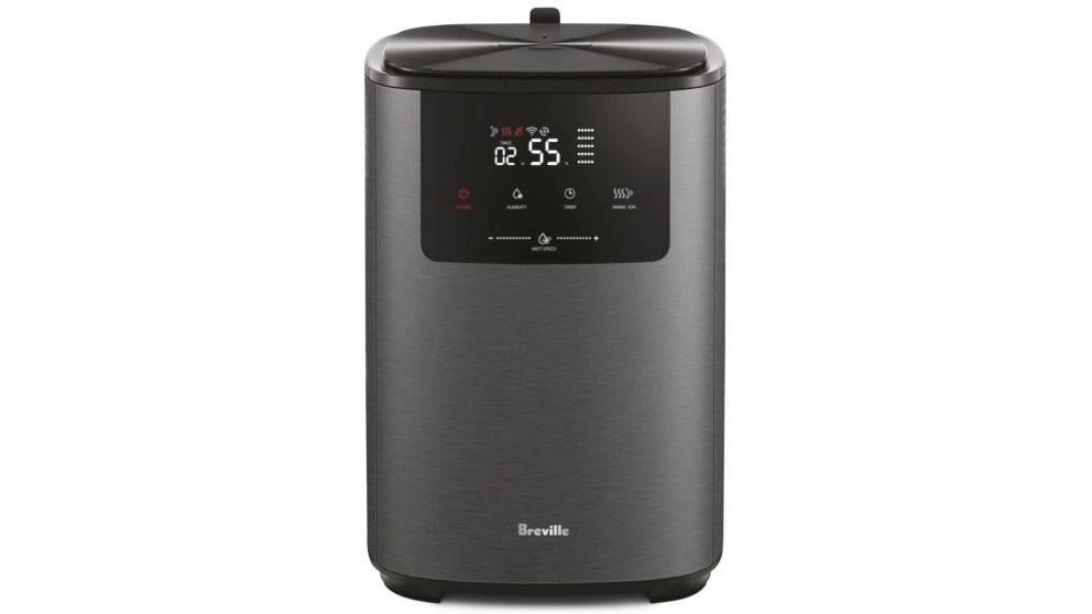 Breville the Smart Mist Top Connect Humidifier - Graphite