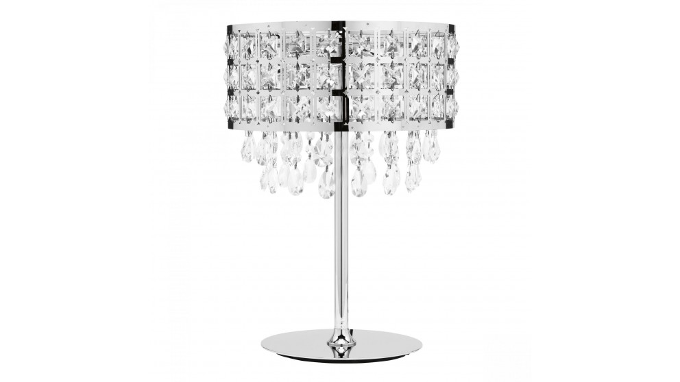 Buy Soula Crystal 3 Light Table Lamp Harvey Norman Au