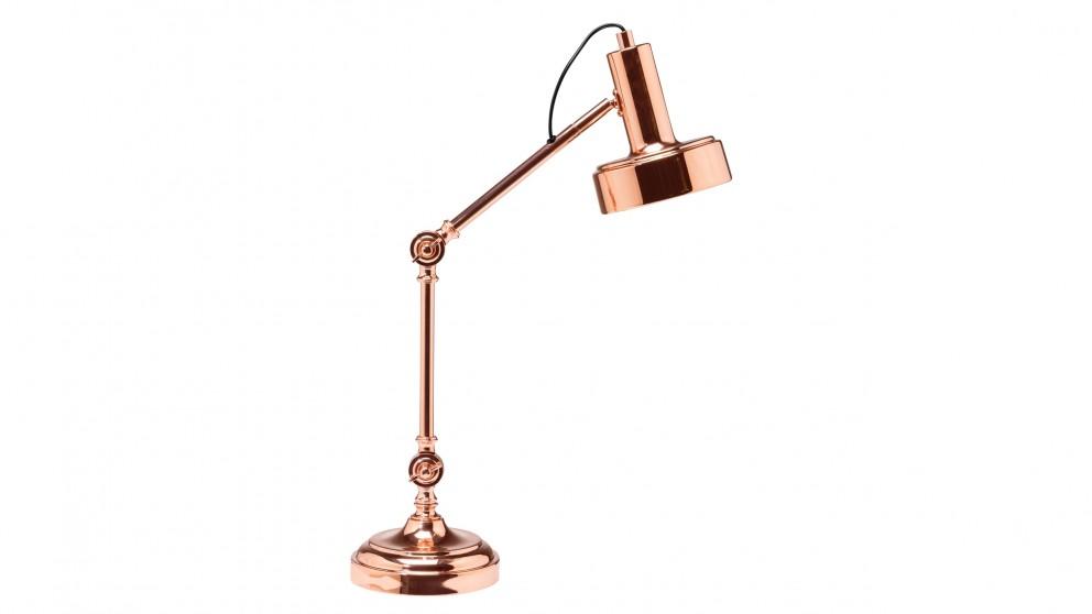 Manning Copper Bedside Lamp