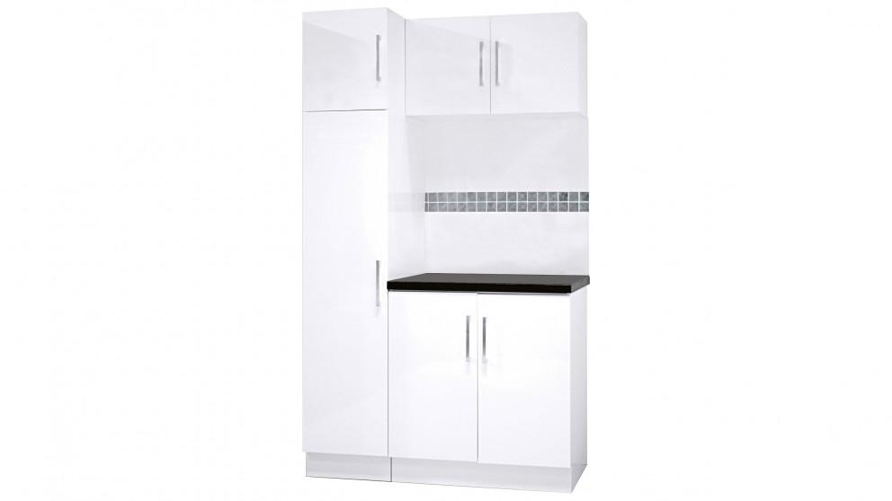 Vanity Bathroom Harvey Norman cartia luna 1200 laundry package - bathroom cabinets - bathroom