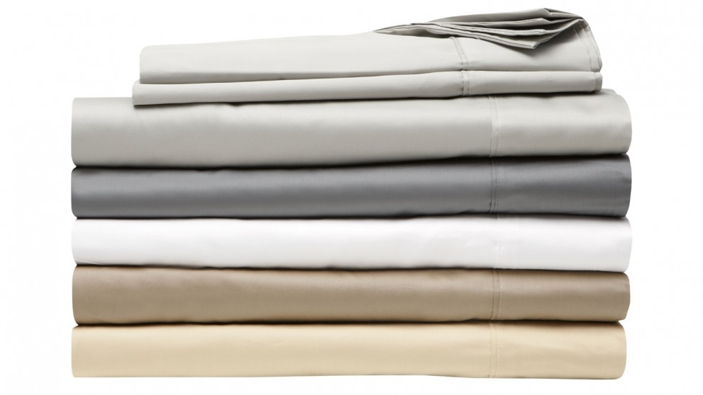 L'Avenue 500TC Silver Standard Pillowcases Pair
