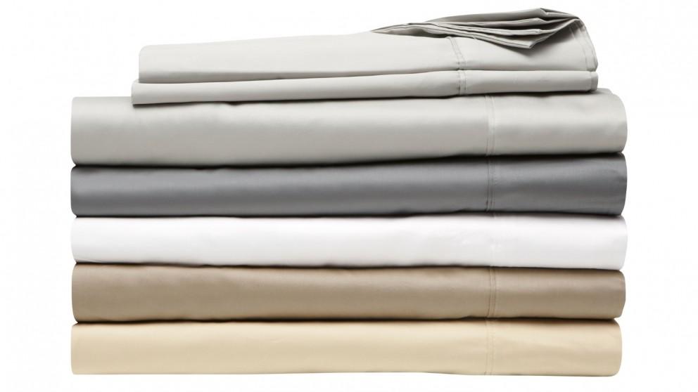 L'Avenue 500TC Silver Standard Pillowcases Pair