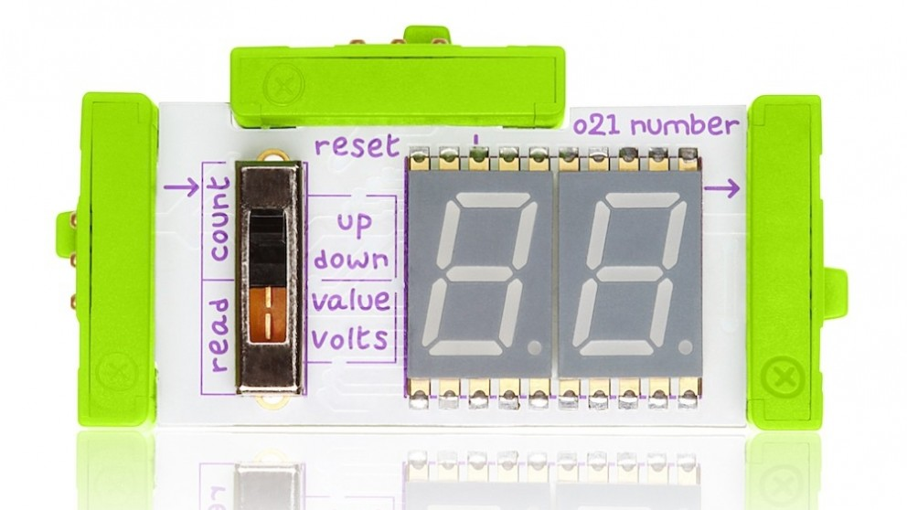 littleBits Output Bits Number