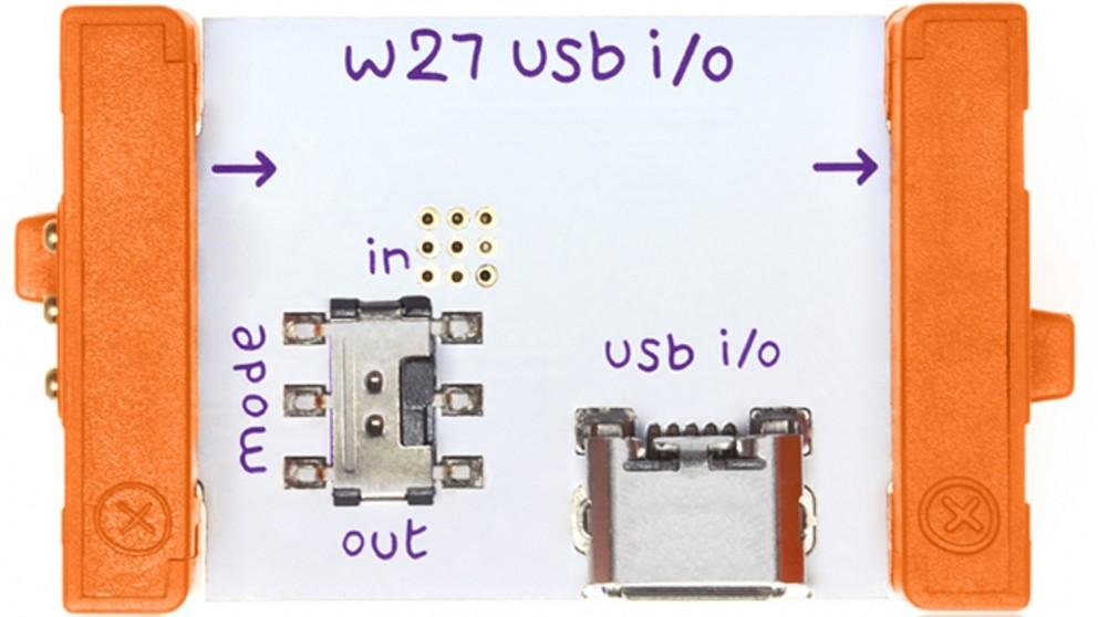 littleBits Wire Bits USB I/O