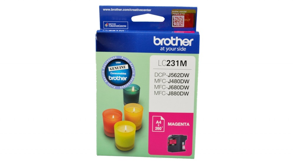 Brother LC231 Ink Cartridge - Magenta