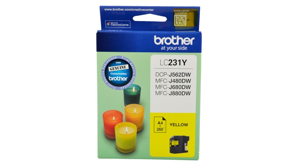Brother LC231 Ink Cartridge - Yellow
