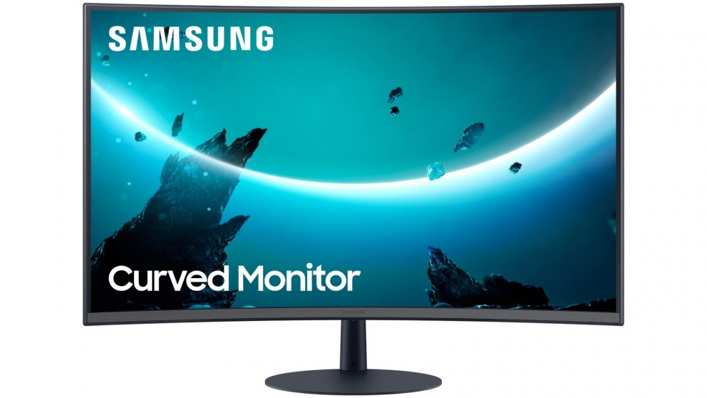 Samsung 32-inch CT55 Curved Monitor with Optimal Curvature 1000R
