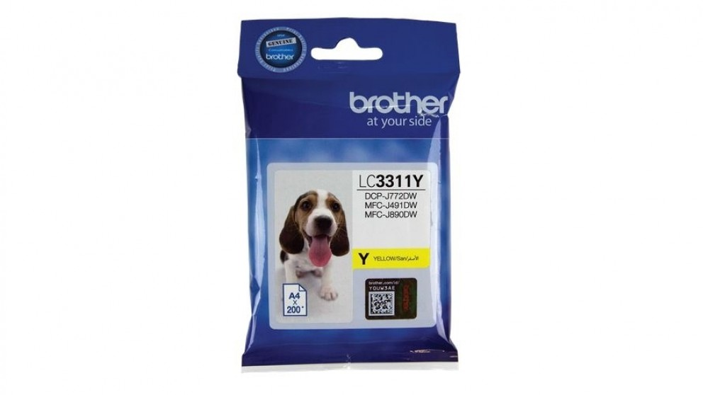 Brother LC3311Y Ink Cartridge - Yellow