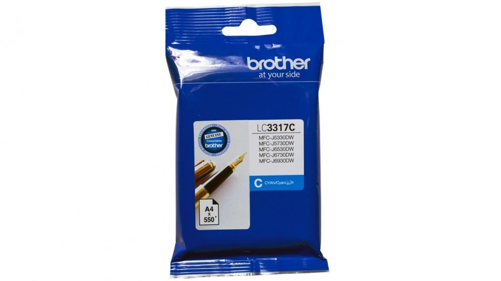 Brother LC-3317 Ink Cartridge - Cyan