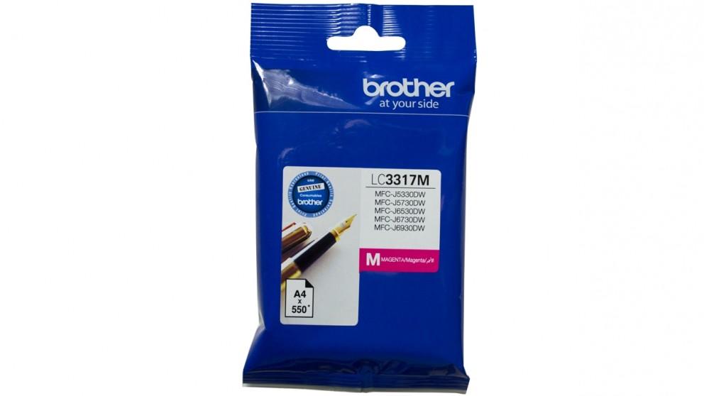 Brother LC-3317 Ink Cartridge - Magenta