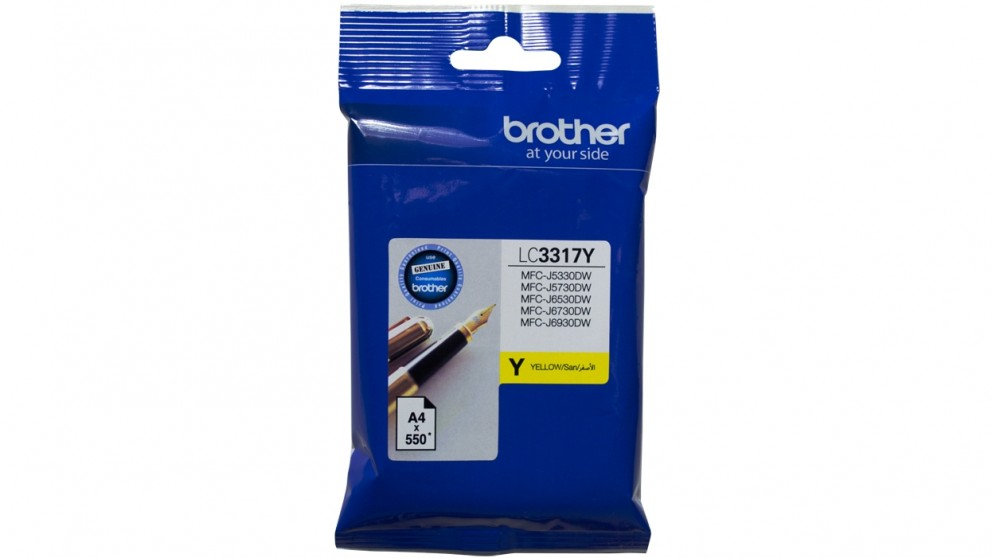 Brother LC-3317 Ink Cartridge - Yellow