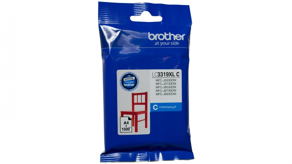 Brother LC-3319XL Ink Cartridge - Cyan