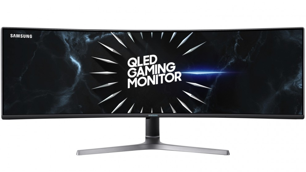 Samsung 49-inch QLED Gaming Monitor with Dual Quad HD Resolution