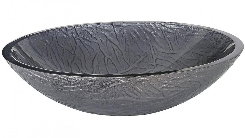 Ledin Forest Oval Glass Basin