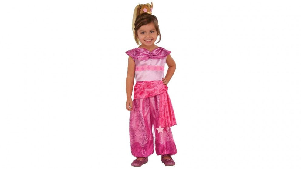 Leah 3-4 Years Old Shimmer and Shine Child Costume - Small