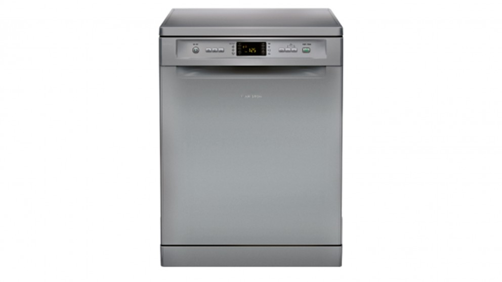 Ariston 60cm LFF8M122X Freestanding Dishwasher - Silver