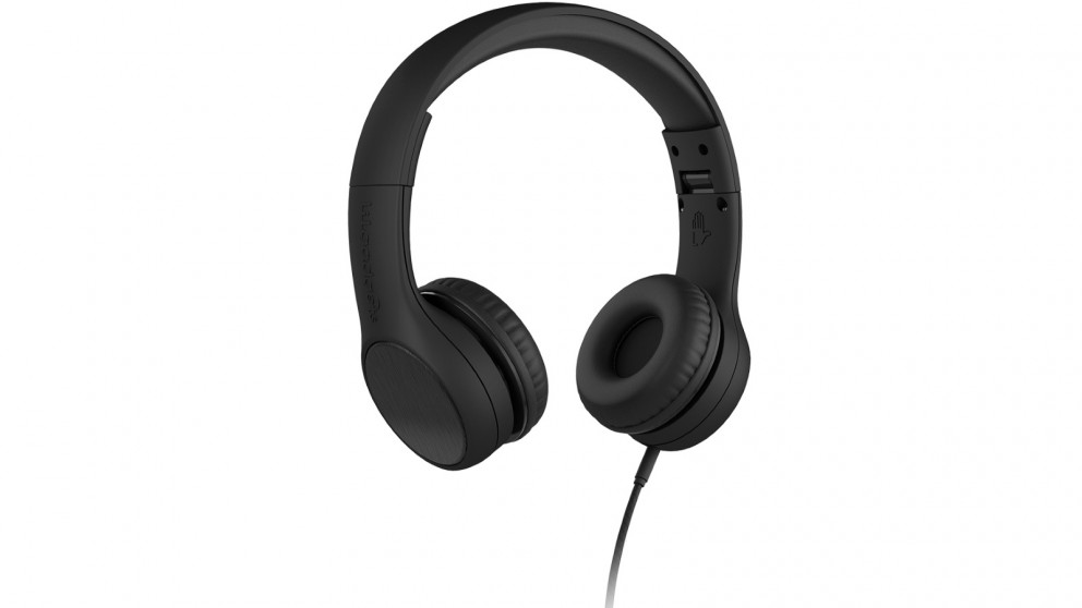 LilGadgets Connect plus Style Children's Wired Headphones - Black