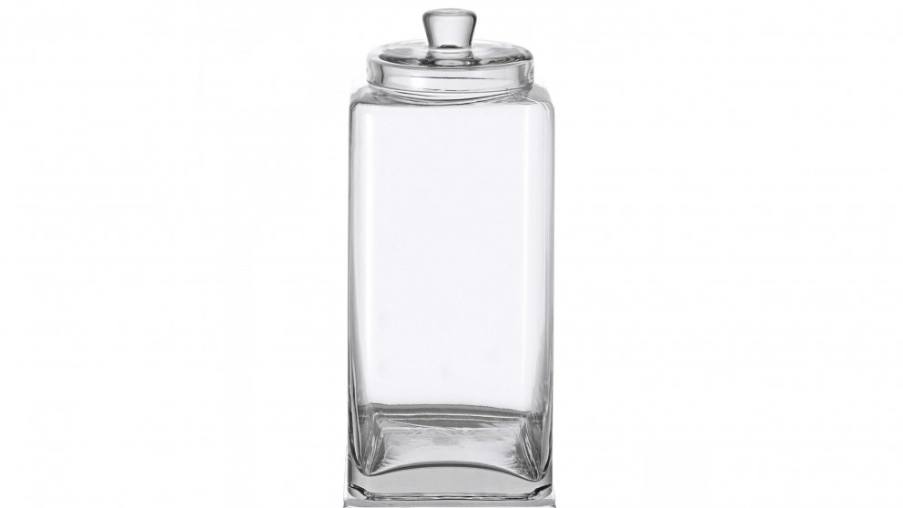Glass Square Large Canister