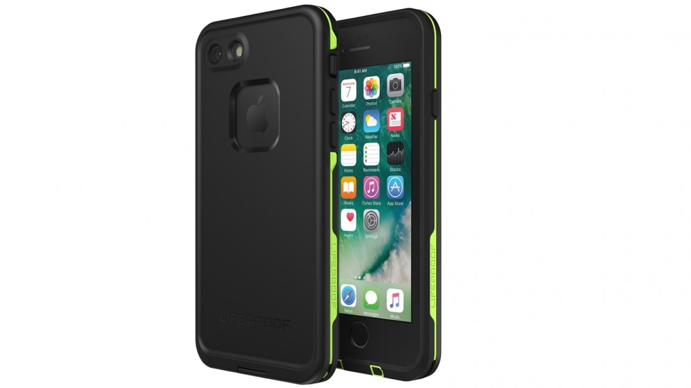 pretty nice c85b7 4103b LifeProof Fre Case for iPhone 8 - Black Lime