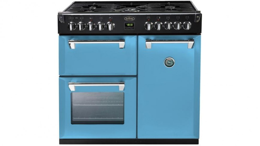 Belling 900mm Richmond Colour Boutique Dual Fuel Range Freestanding Oven - Days Break