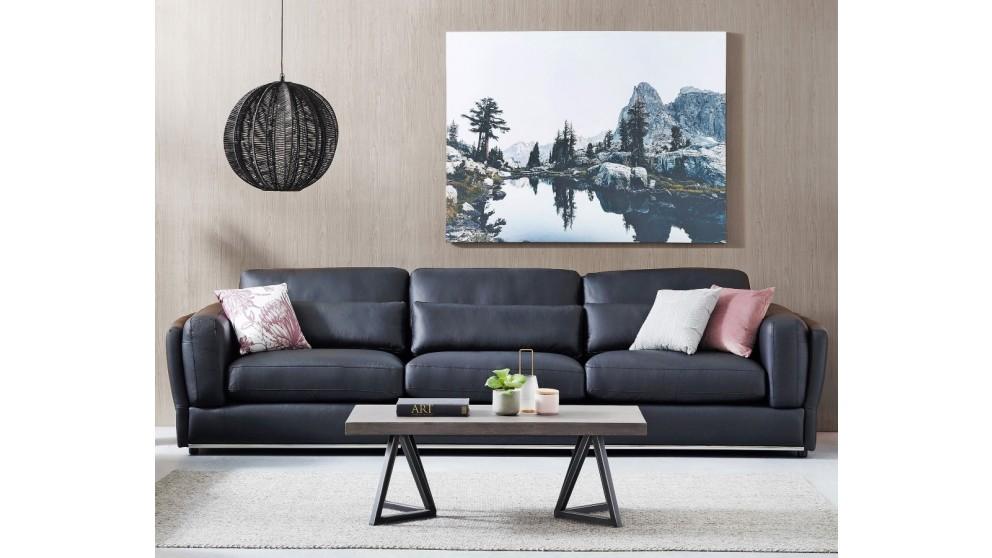 Cameo 3-Seater Leather Sofa