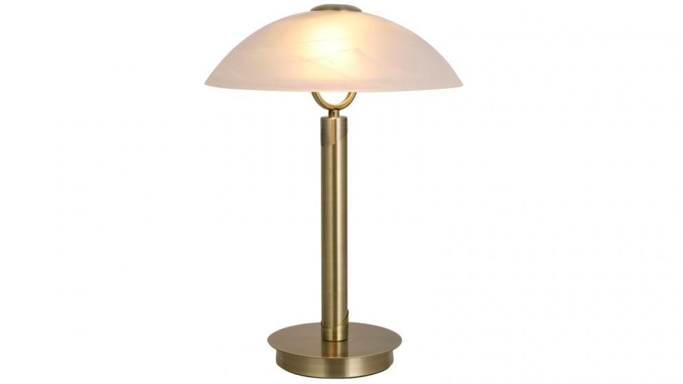Lexi Lighting Ember Touch Table Lamp - Antique Brass