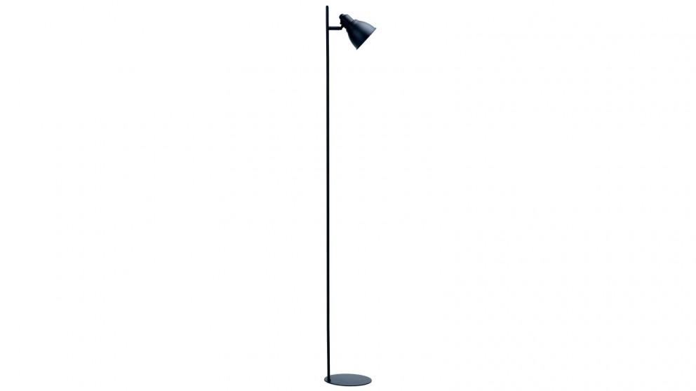 Lexi Lighting Kelvin Ultra-slim Floor Lamp - Black