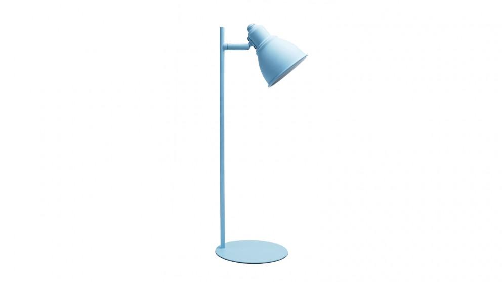 Lexi Lighting Kelvin Metal Ultra-slim Desk Lamp - Blue