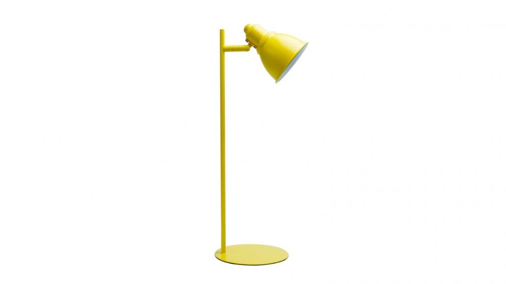 Lexi Lighting Kelvin Metal Ultra-slim Desk Lamp - Yellow